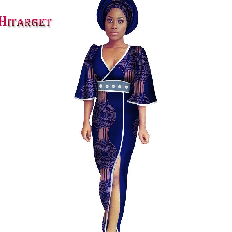 2020 Повседневное платье размера плюс 5xl Женские африканские