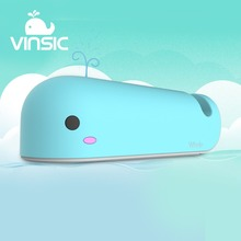Vinsic Cute Baby Whale Collector 10050mAh Power Bank 2.4A/5V External Battery Charger for Iphone 7 7 Plus 6S Plus Sumsung Xiaomi