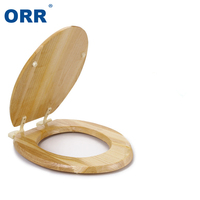 Toliet Seat Cover Wooden O/V/U Bathrrom Slow Close Toilet Seat Environmentally Safe Solid ampa toalete Tapa inodoro ORR