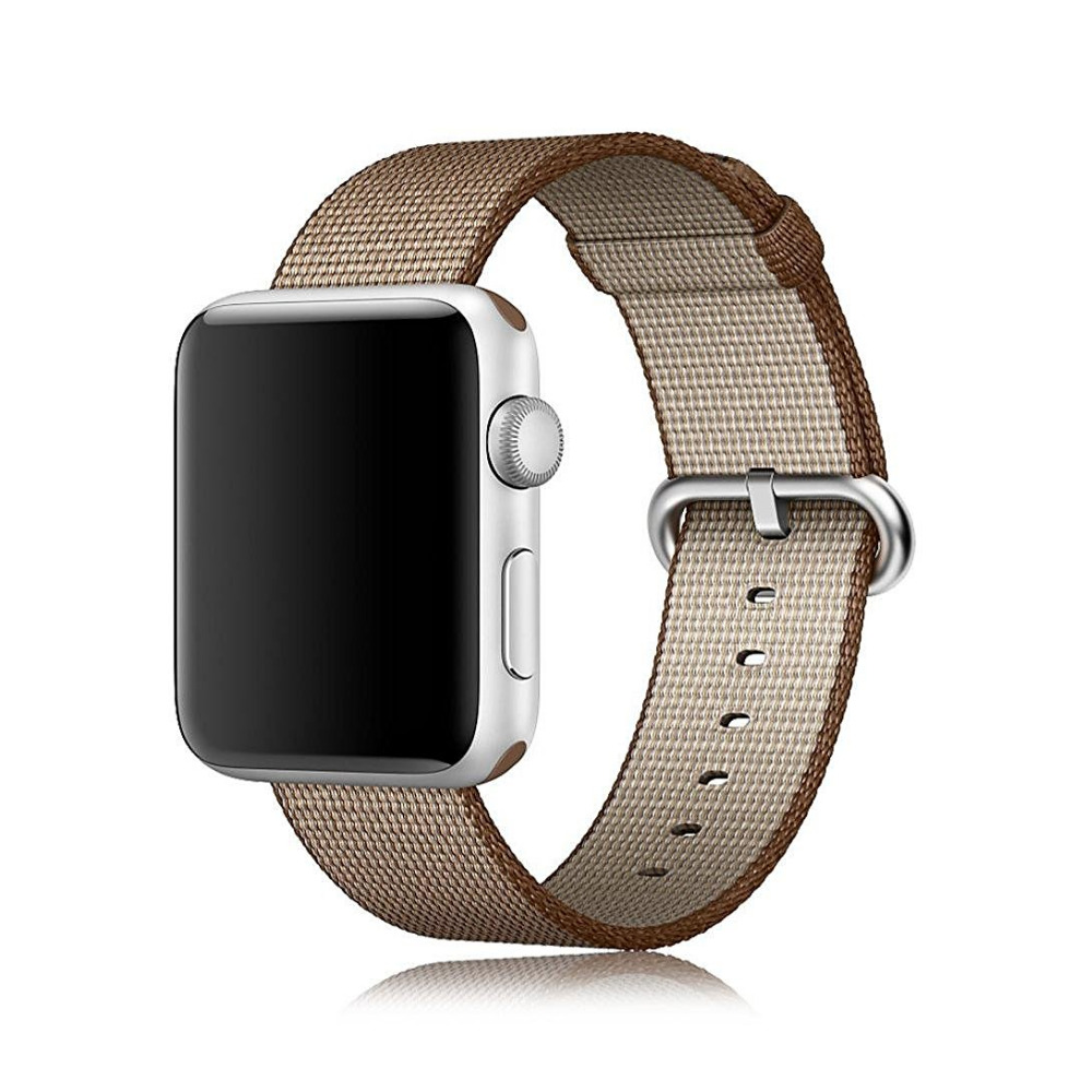 все цены на Sport Woven Nylon band For apple watch strap 42mm 38mm wrist bracelet nylon watchband fabric-like for iwatch Edition 2 1 онлайн