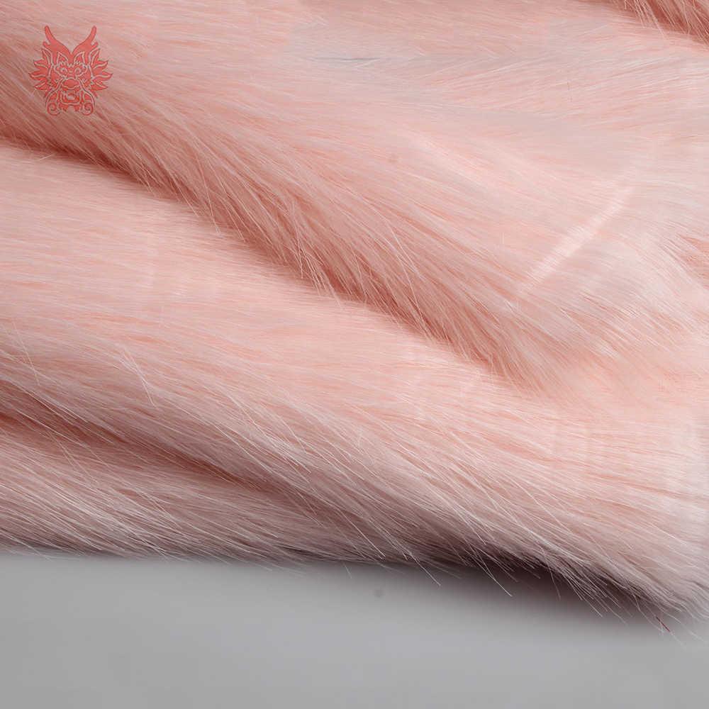 3 см длинный плюшевый искусственный мех Ткань для пальто жилет сценический Косплей DIY аксессуары новорожденный фотографический tissu telas 170*50 см 1 шт. SP5571