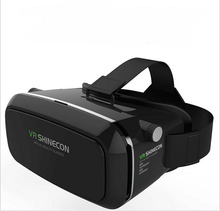 2pcs 2016 VR Shinecon Virtual Reality 3D Glasses Google Cardboard Universal Video Movie Glasses For 3.5-6.0′ Smart Phones