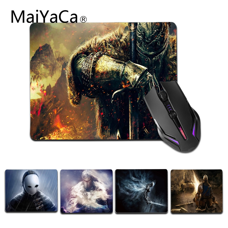 MaiYaCa Vintage Cool Dark Souls small Mouse pad PC Computer mat Size for 18x22cm 25x29cm Gaming Mousepads