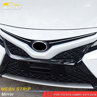 ANTEKE Auto Mesh strip cover sticker accessories For Toyota Camry XV70 2018