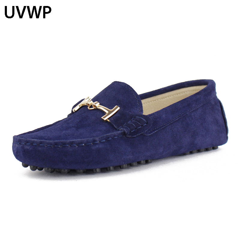 Shoes Women's Ankle-Loafers Spring Handmade Genuine-Leather Woman Summer Casual for Work