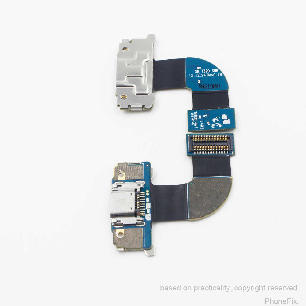 Para Galaxy Tab 8.4 Pro SM-T320 T320 Original Novo Porta Micro USB de Carregamento de Carga Porto DocK Connector Flex Cable