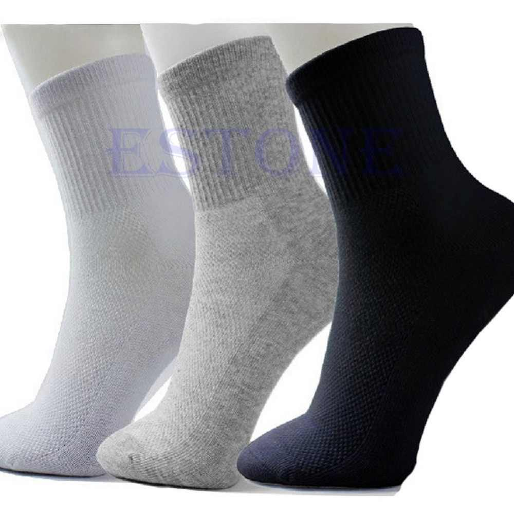 10 Pairs Lot  Hot Sale New Summer Autumn Style Men's Socks Quality Polyester Sock For Men 3 Colors-Y107