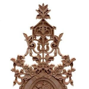 Image 3 - VZLX الخشب يزين التماثيل ملصق أثاث منحوتة نافذة ديكور المنمنمات الحرف الخشبية إكسسوارات ديكور منزلي لتقوم بها بنفسك