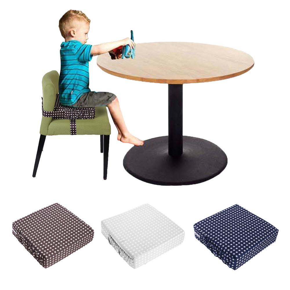 Doux bébé chaise coussin de siège enfants à manger coussin réglable amovible augmenté déjeuner chaise Pad landau siège matelas
