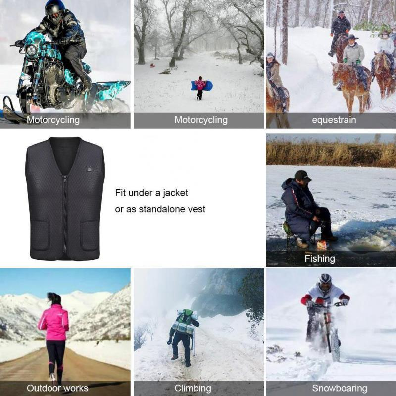 HTB10UnLXsnrK1RkHFrdxh4CoFXaz Men Women Outdoor USB Infrared Heating Vest Jacket Winter Flexible Electric Thermal Clothing Waistcoat For Sports Hiking