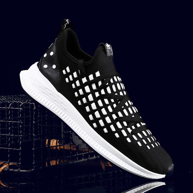 Zapatillas de deporte blancas Hemmyi para hombre, zapatillas