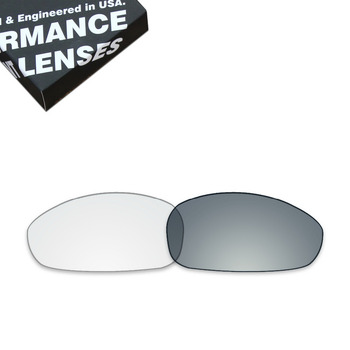 ToughAsNails Replacement Lenses for Oakley Juliet Sunglasses Photochromic Clear Color (Lens Only)