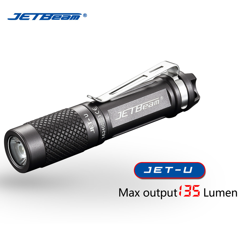 2019 Fashion Jetbeam Jet U(jet ) Xp G2 135lm Mini Portable Waterproof Led Flashlight Torch Latarka Handheld Linterna Telescopic Baton High Safety