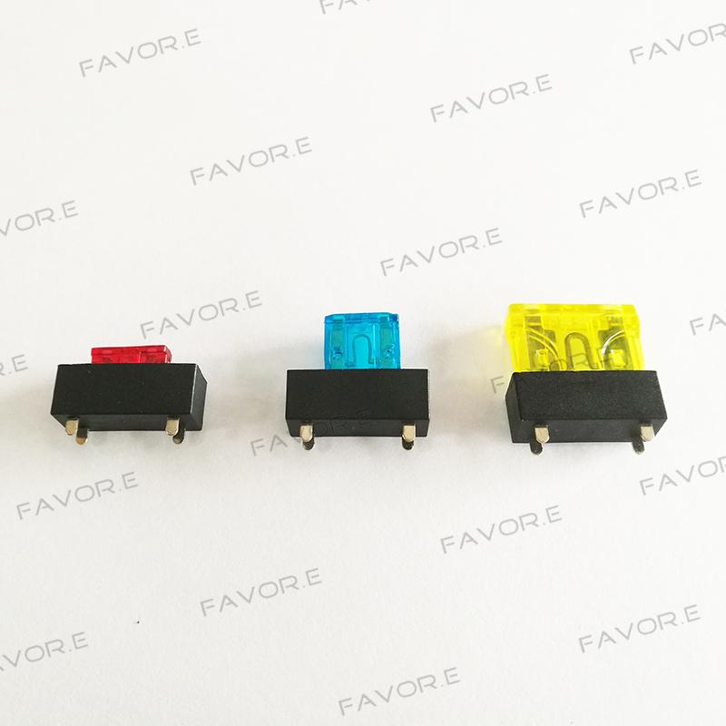 micro mini medium small blade fuse holder universal car fuse holder mini blade fuse block at Mini Blade Fuse Box