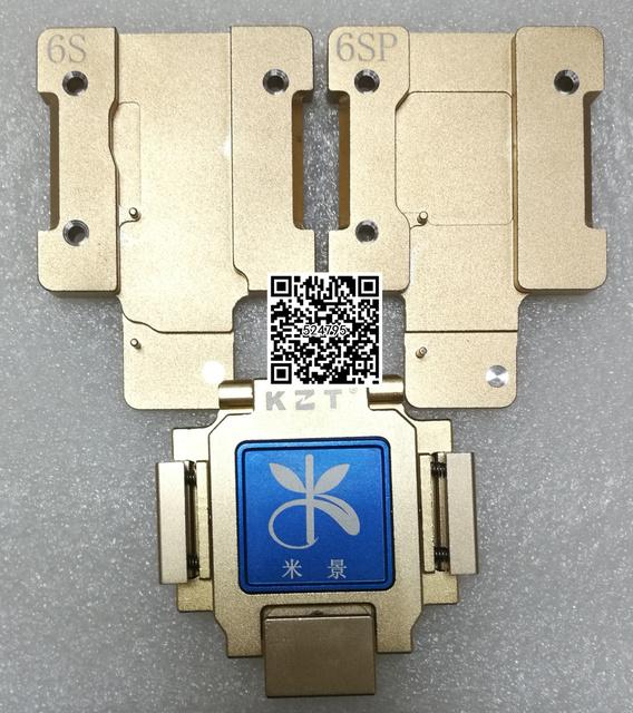 Envío libre de dhl hdd nand flash probador y herramienta placa base para iphone 6 s 6 s plus teléfono móvil teléfono móvil reparación de la máquina
