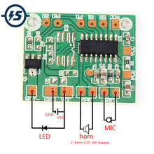 DIY Sound Module For Toy Voice Record Intelligent Playback Module Sound IC Board Voice Change Gift Accessaries DC 3V-5V(China)