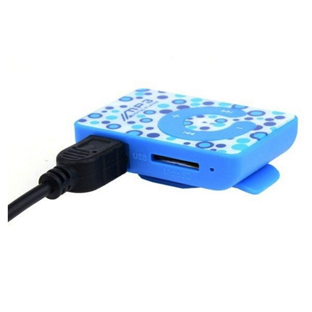 Usb-kabel ZuverläSsige Leistung Romantisch Mini Clip Mp3-player Sd-karte Unterstützt 3,5mm Kopfhörer
