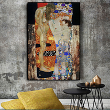 Три возраста женщины Густава Климта картина маслом на холсте плакаты и принты скандинавские настенные картины для гостиной