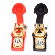 2018 New Car Caravan Auto Car Battery Pair of 12V Quick Release Battery Terminals  Battery Terminal Connector Clamps