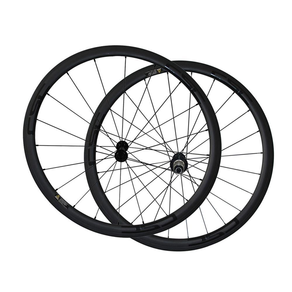 Road Bike Wheel Powerway R13 Ceramic Bearing Hub CSC 700C Clincher Tubular Tubeless V brake Carbon
