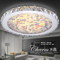 ZYY Современные круговой Творческий потолочный светильник простой кристалл лампы для дома гостиная Спальня ресторан с светодиодный лампы DHL
