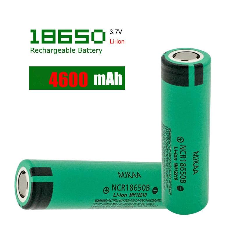 Cncool 3.7V 18650 Battery For Panasonic Vape E-cigarette Flashlight NCR18650B Li-ion Rechargeable Battery 4600Mah 3.7V Cells