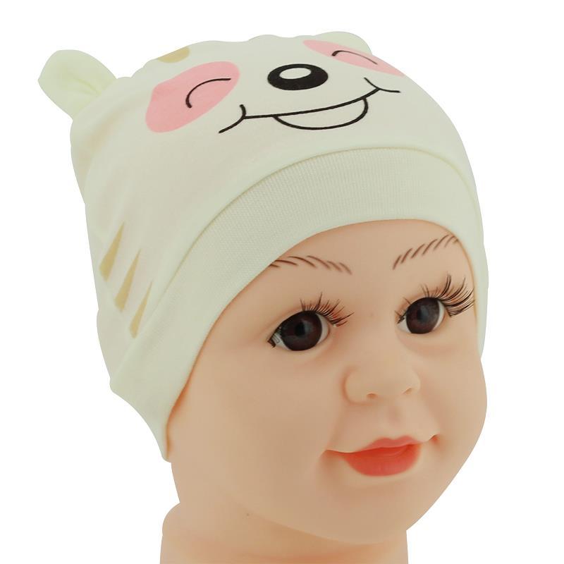 1Pcs Baby Hat Animal Yellow Newborn Boy Girl Bonnet Accessories Pure Cotton Kids Cap Stuff Newborn Photography Props