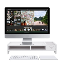 Многофункциональная настольная подставка для монитора, компьютерный экран, стояк, деревянная полка, крепкая подставка для ноутбука, настольный держатель для ноутбука, телевизора