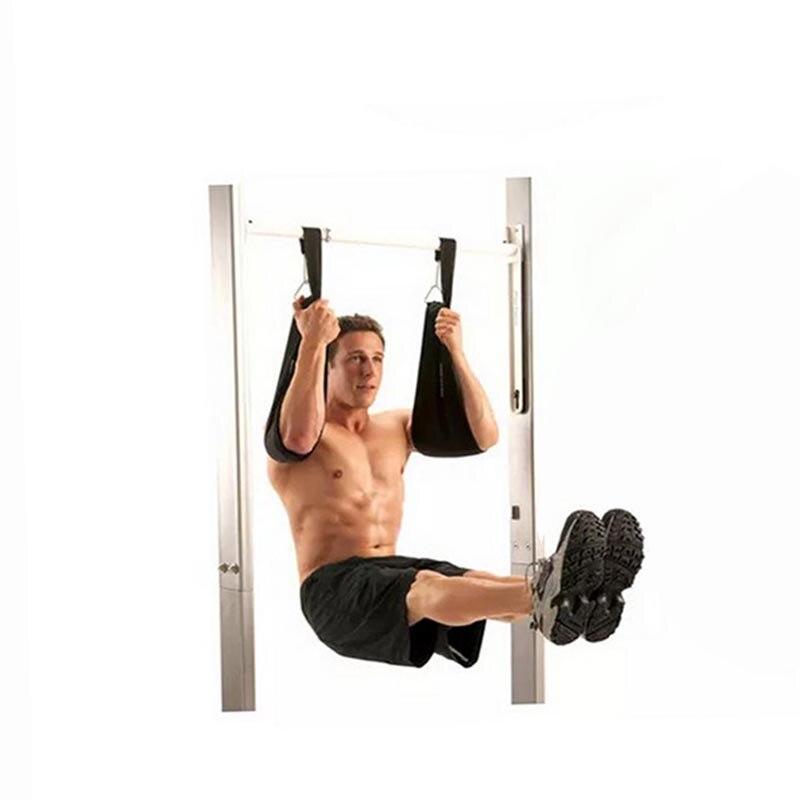 De Fitness à domicile AB Sling Bretelles Abdominale Carver Suspendus Ceinture Chin Up Sit Up Bar Pullup Heavy Duty Muscle Formation soutien ceinture