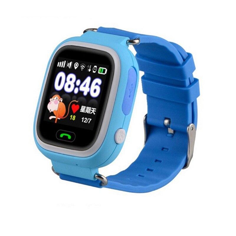 imágenes para Venta caliente colorida q90 pantalla táctil smart watch llamada sos ubicación buscador Dispositivo Rastreador Embroma el Regalo Niño Q50 Q60 Anti Perdido Monitor