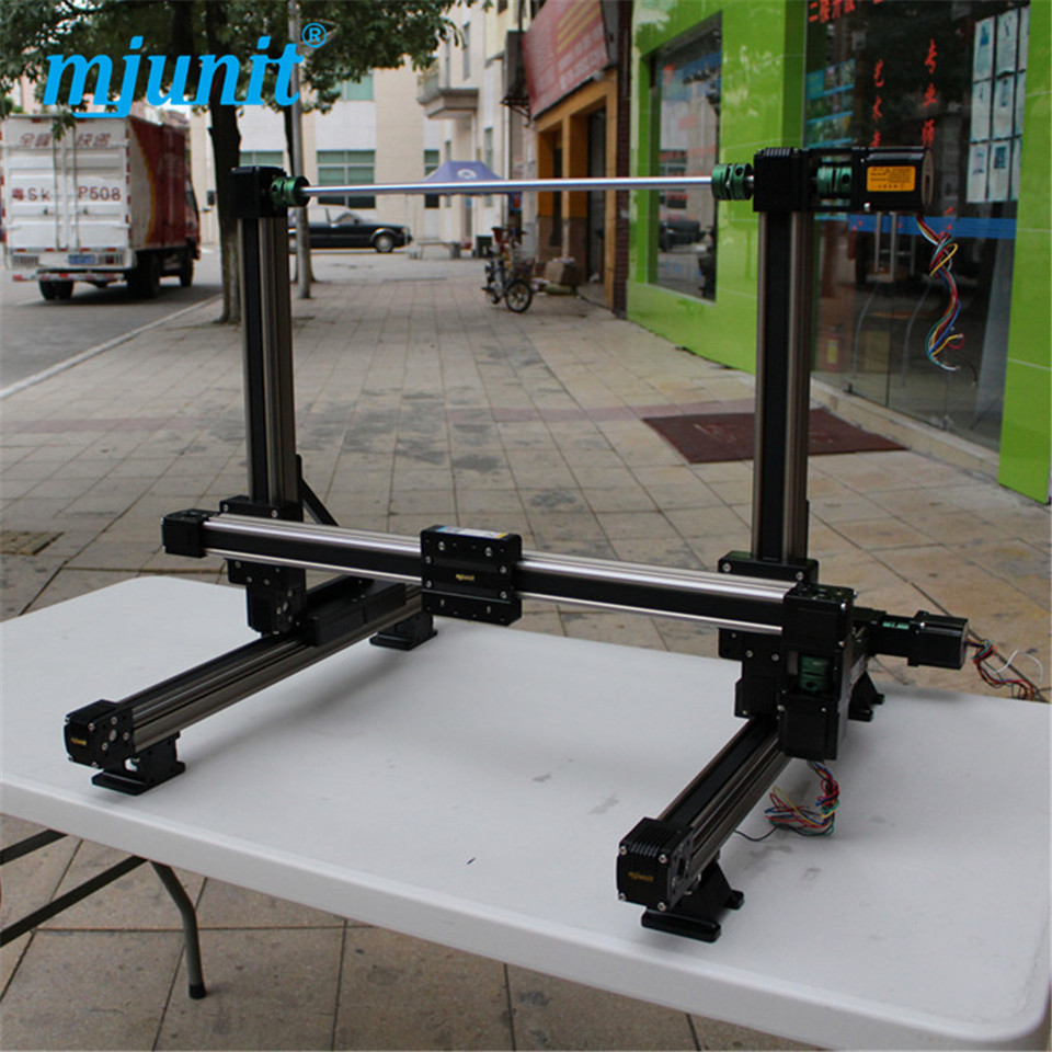 Rail Guideway System Flanged Square Slide Linear Motion XYZ linear stage
