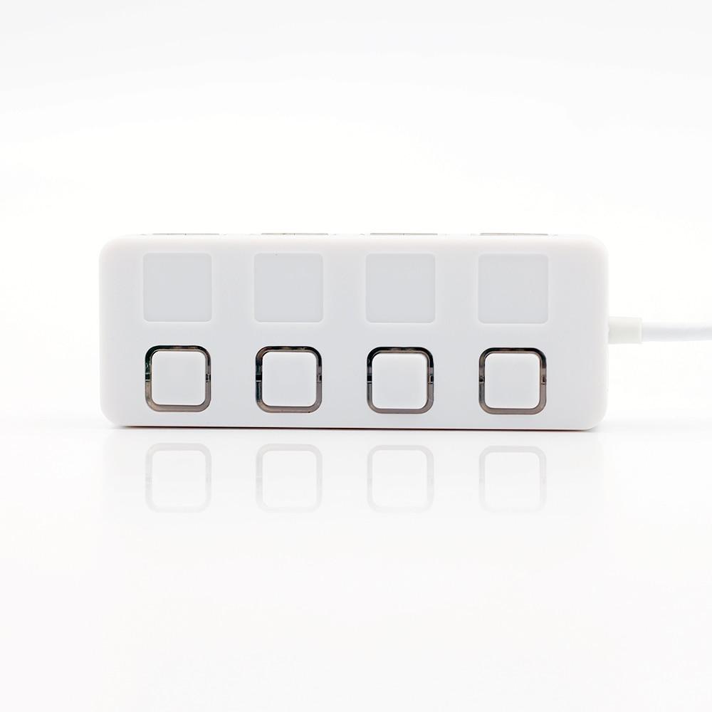 Ayrı bir yandırma / söndürmə kabeli olan USB 2.0 Hub Splitter, - Kompüter periferikler - Fotoqrafiya 5