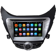 8 Inch Quad Core HD1024*600 Android 5.1 Car DVD Player For Hyundai For Elantra 2011-2013 Car Multimedia Player 8GB MAP Card