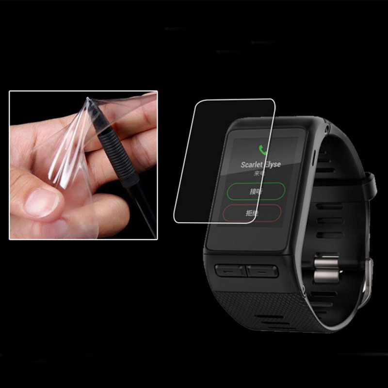 2pcs Anti-Shock Soft TPU Clear Protective Film Guard For Garmin Vivoactive HR Smart Watch Full Screen Protector Cover(Not Glass)