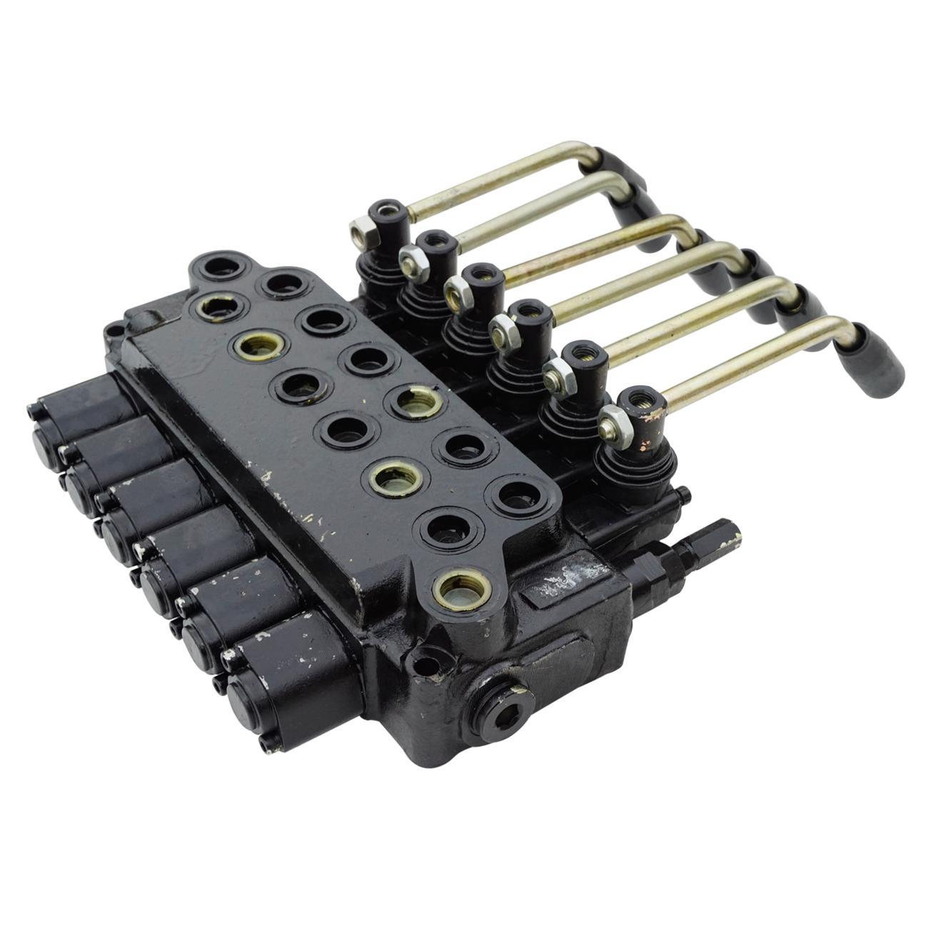 ECO Six Spool Hydraulic Valve 6 Spool Monoblock Valve 10GPM 4500PSI Max. цена