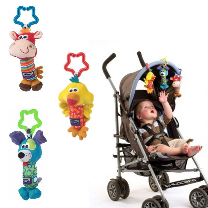 Infant Mobile Baby Plush Newborn Bed Wind Chimes Rattles Bell Toy Stroller 7/'/'