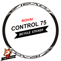 26er 27.5er 29er Rim Wheel Sticker Cycle Reflective MTB Mountain Bike Wheels Decal for R0VAL CONTROL 75 MTB RIM
