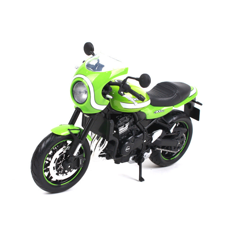 1:12 Scale KAWASAKI Z900 RS Motorcycle Motorbike Diecast Alloy Race Bikes Street Motor Toys Kids Children Toy Collection Display