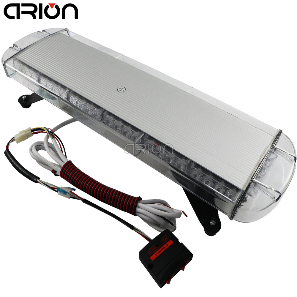 CIRION 12/24V 56W 56 LED Car Truck Vehicle Strobe Emergency Warning Flashing Light Bar Beacons Lights Lamp Red Blue Amber White