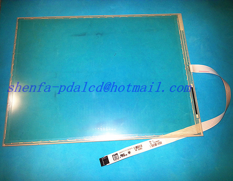 touch for E452025 SCN-AT-FLT15.1-005-0H1-R / E535215 SCN-A5-FLT15.1-005-0H1-R touch screen panel glass free shipping