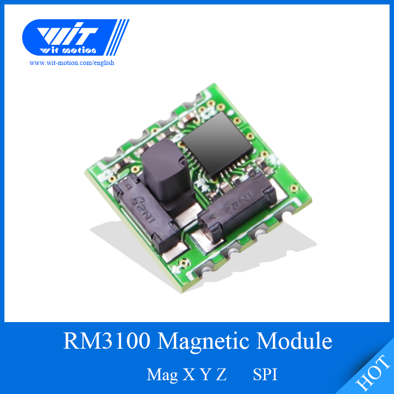 WitMotion RM3100 Sensor Military-grade Magnetic Field Module High-Precision Magnetometer Digital Electronic Compass For Arduinos