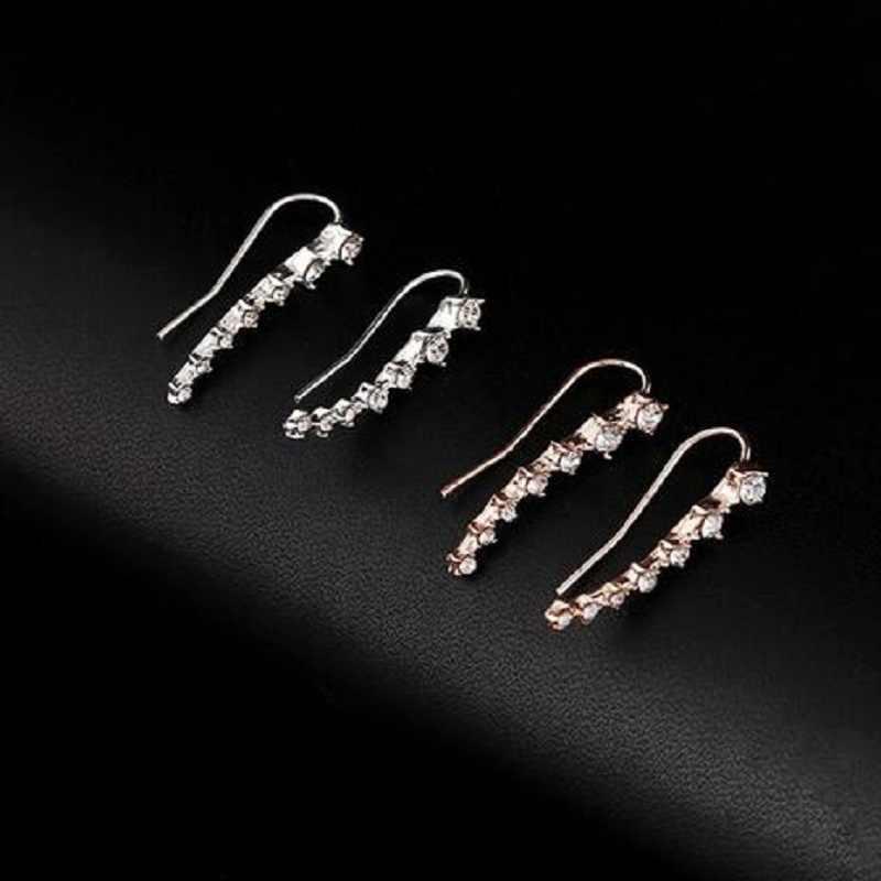 Thời trang mới Boucle D' Oreille Earring Bijoux Gáo Rhinestone Earrings Đối Với Phụ Nữ Bông Tai Đồ Trang Sức Brincos Cô Gái Earing oorbel