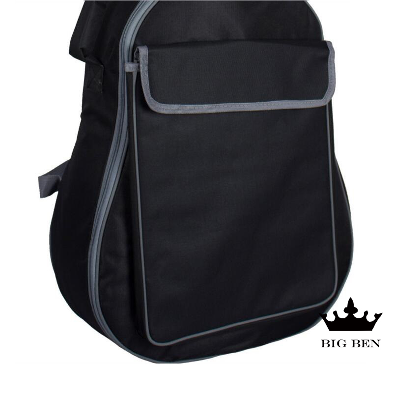 Thickening 36inch cotton guitar bag 40 41inch ballad guitar bag black classic design featuring strong guitar case black backpack portable double shoulders 40inch 41inch wood guitar case 41inch 42inch ballad guitar cover plus 42inch acoustic guitar bag parts