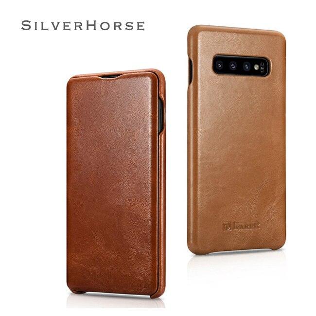 Étui pour téléphone portable classique en cuir Vintage avec étui pour samsung Galaxy S10