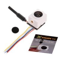 V2 5.8G 48CH 25MW 700TVL Mini AIO 120 degree Wide Angle Camera VTX for FPV RC Racing Drone Quadcopter