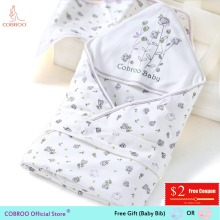 Twins Baby Blanket Newborn Swaddle 0-12 months Adjustable Cotton Wrap Blanket Floral Sleepingpack Blanket Swaddling YP120011