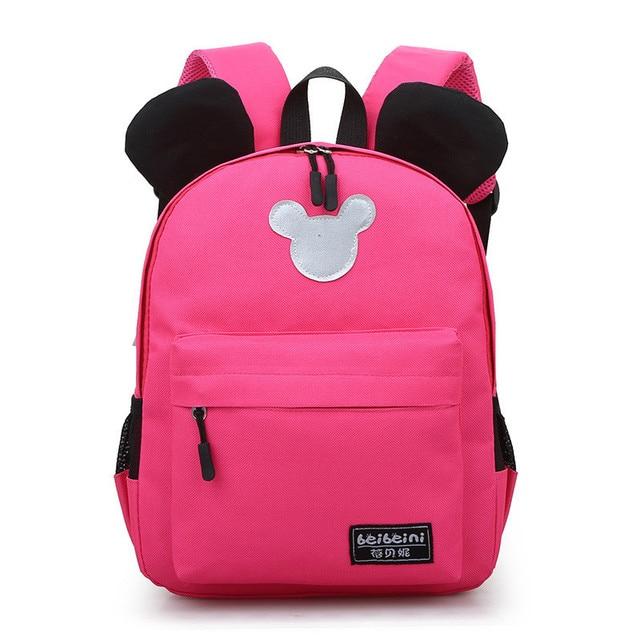 0ab61685004 New Arrival 2018 Fashion Cute Kids School Bags Anti-lost Backpack Baby  Toddler Book Bag Kindergarten Rucksacks mochila escolar
