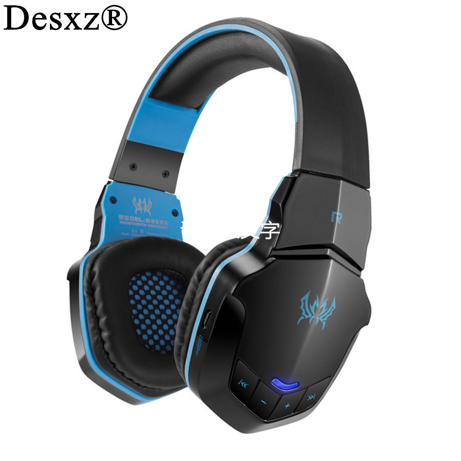 Desxz Stereo Wireless Bluetooth headphone B3505 auriculares fone de ouvido pc gamer Gaming headset Headphones With Mic For phone kotion each b3506 foldable auriculares wireless fone de ouvido bluetooth headphones gaming headset gamer microphone kulaklik