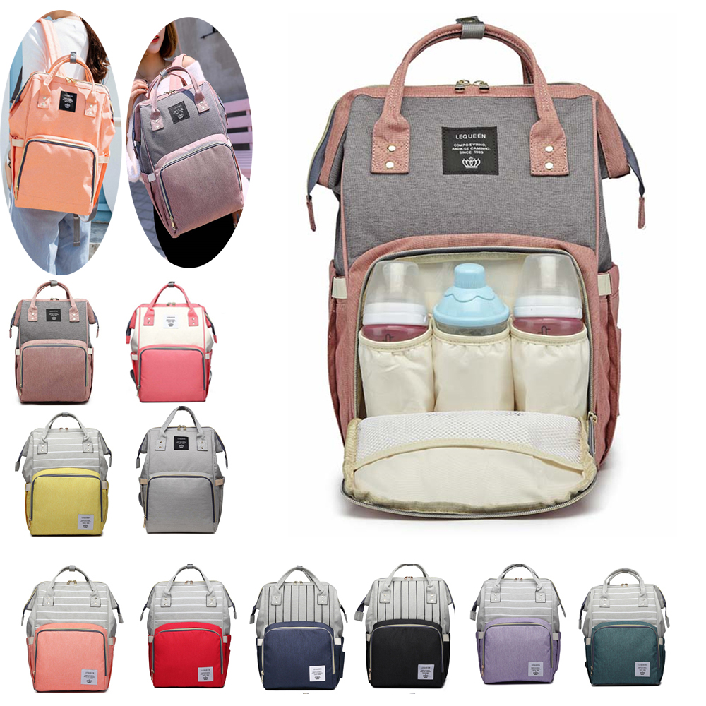 35 Colors Mummy Maternity Nappy Bag Stroller Bolsa Large Capacity Baby Backpack Mommy Nursing Bag Baby Care Changing Diaper Bag