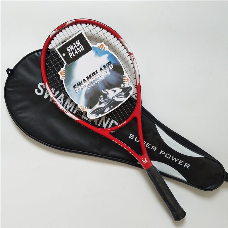 High Quality Carbon Fiber Tennis Racket Racquets Equipped